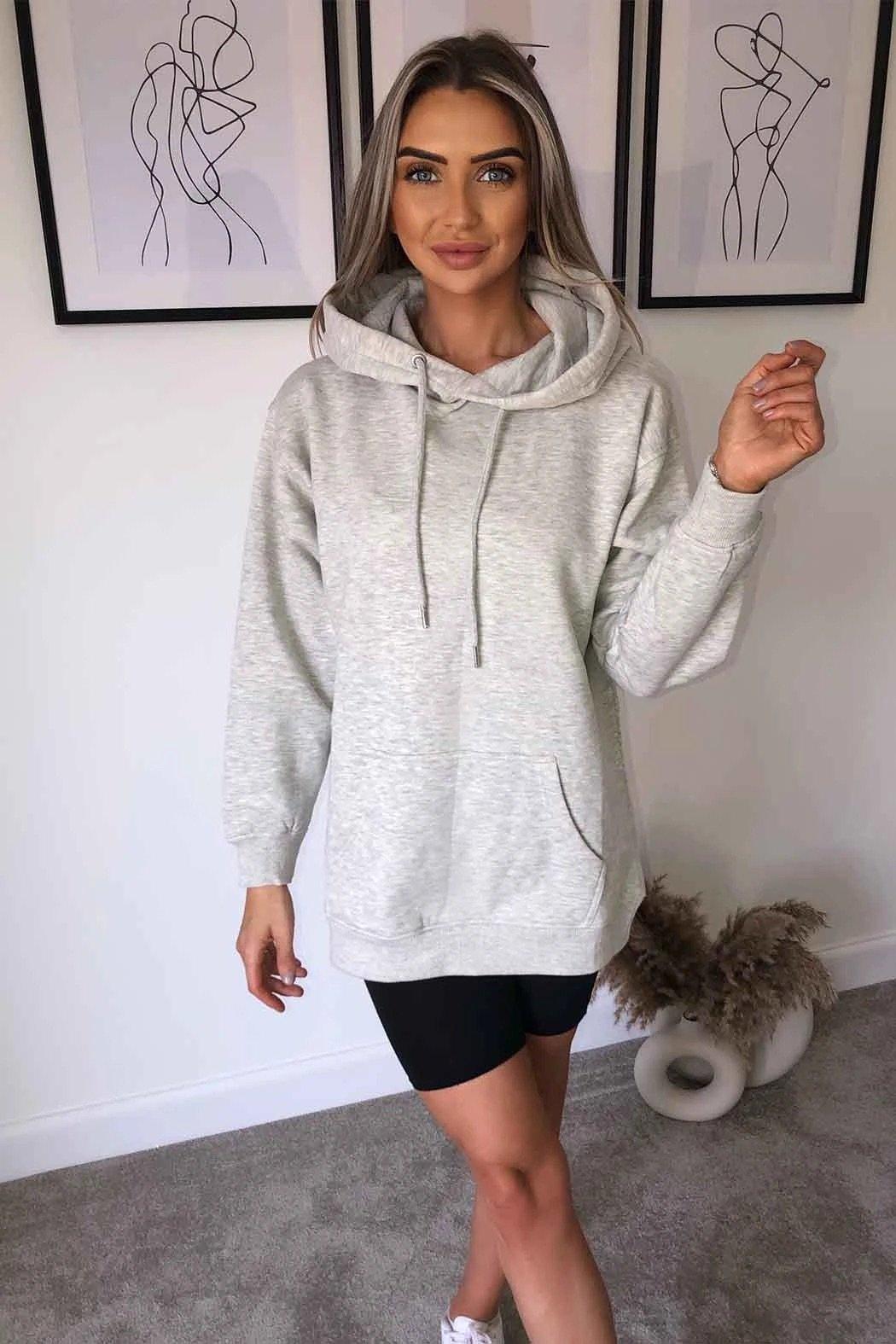Grey Boyfriend hoodie available to buy online