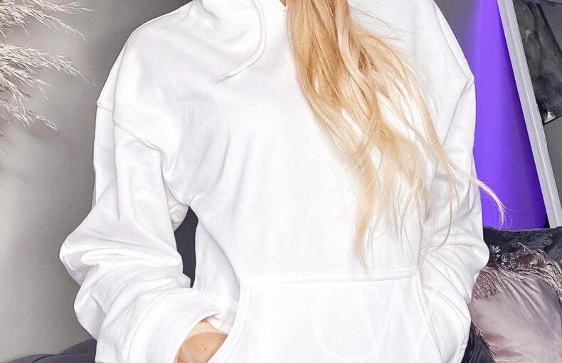 Shop white hoodies online