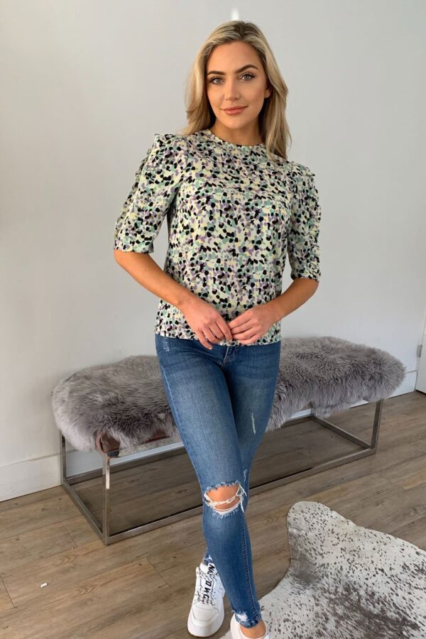 Multi coloured blouse available to buy online
