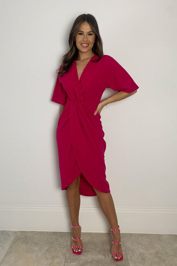 Fuchsia dress available to buy online
