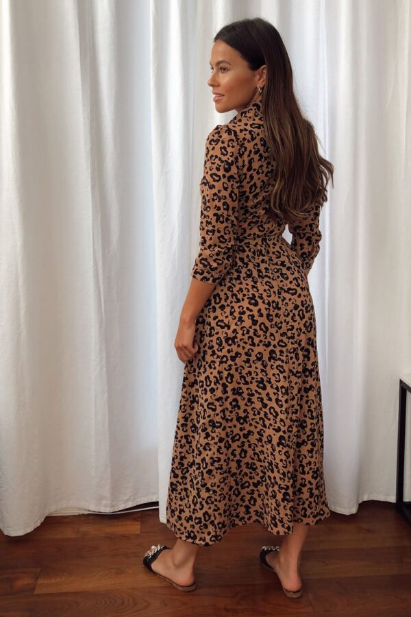 Animal print midi dress available to buy online