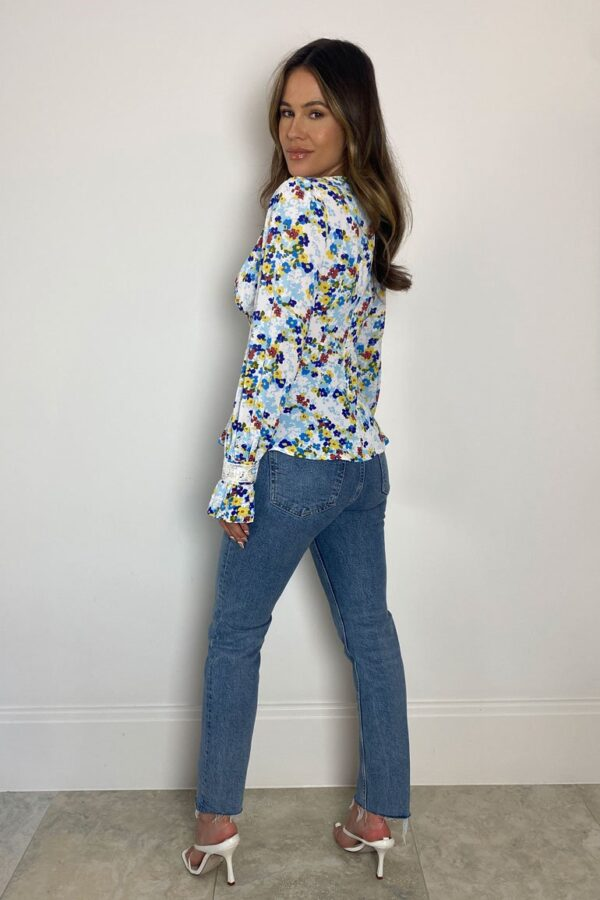 Floral blouse available to buy online