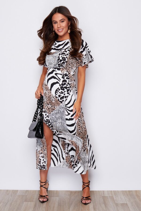 Animal print dress available to buy online