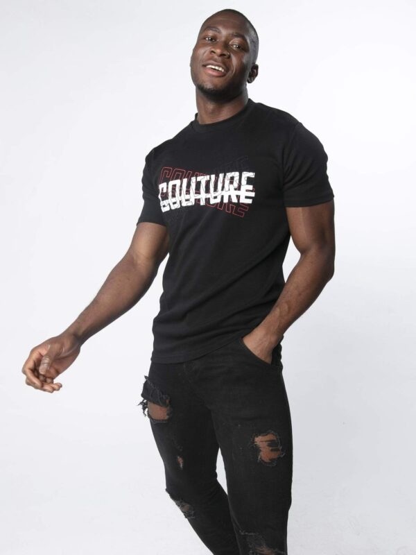 Trio Strike Tee Balck available to buy online
