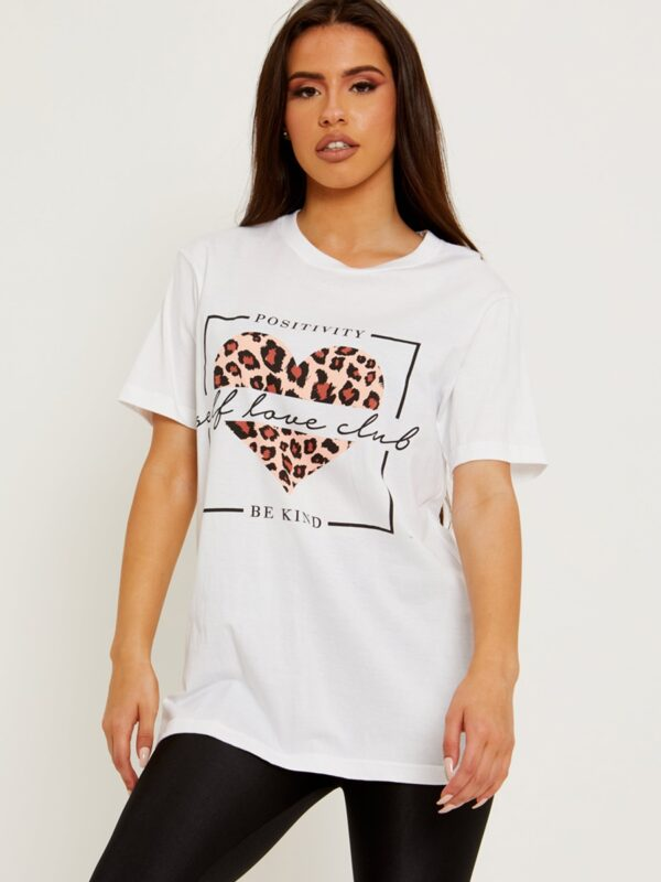 White ladies tee available to buy online