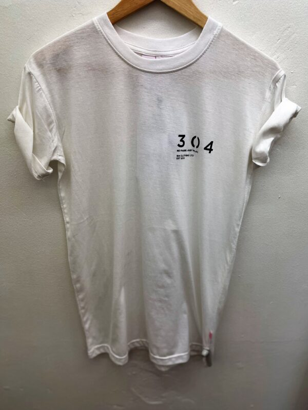 304 white tshirt available to buy online