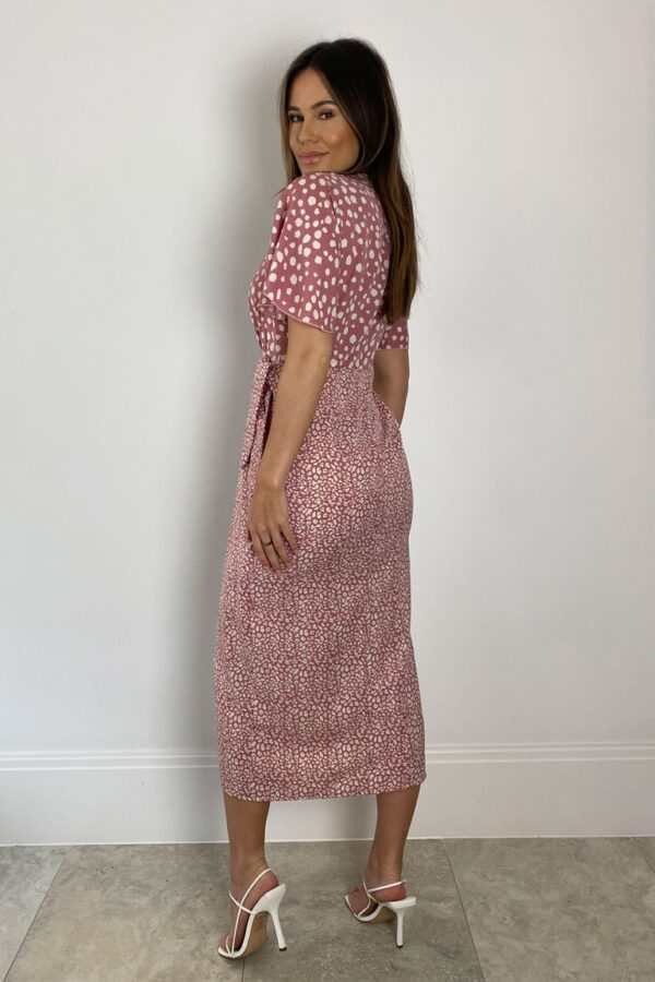 Pink spot dress available to buy online