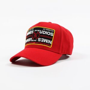 Red trucker Cap available online