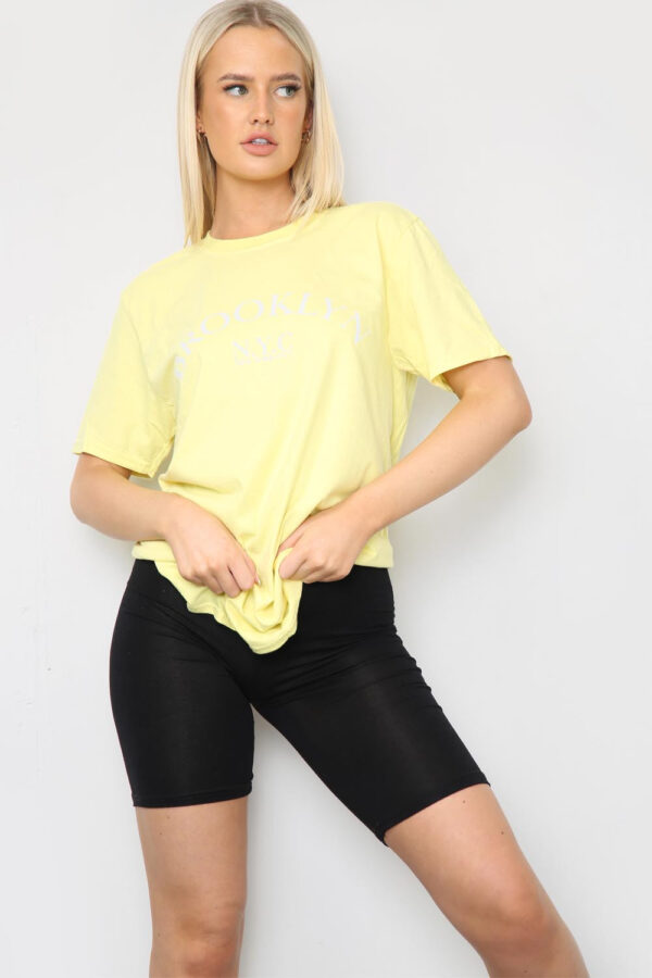 Yellow tee available to buy online