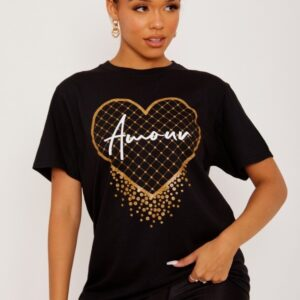 Black T shirt available to buy online