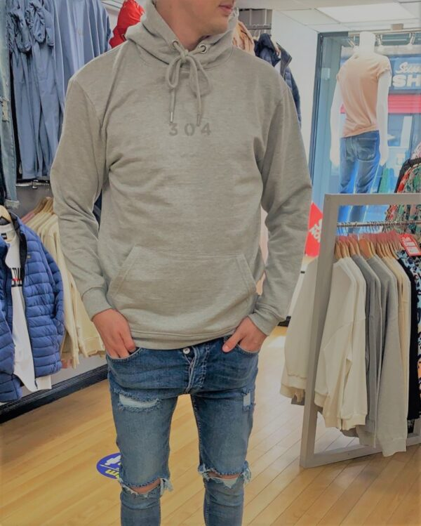 304 grey hoodie available to buy online