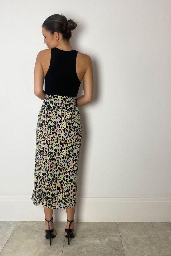 Animal print skirt available to buy online