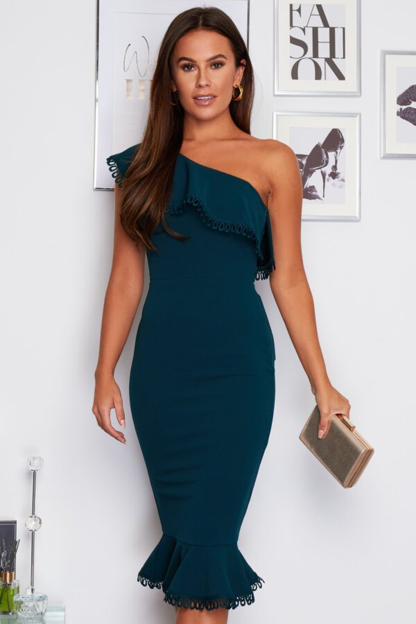 Emerald dress available to buy online