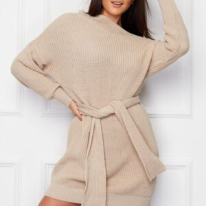 Beige knitted dress available to buy online
