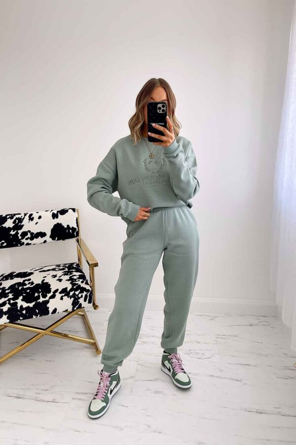 Mint green jogger available to buy online