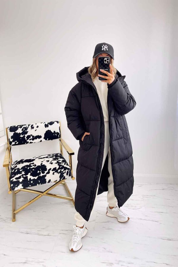Black coat available to buy online
